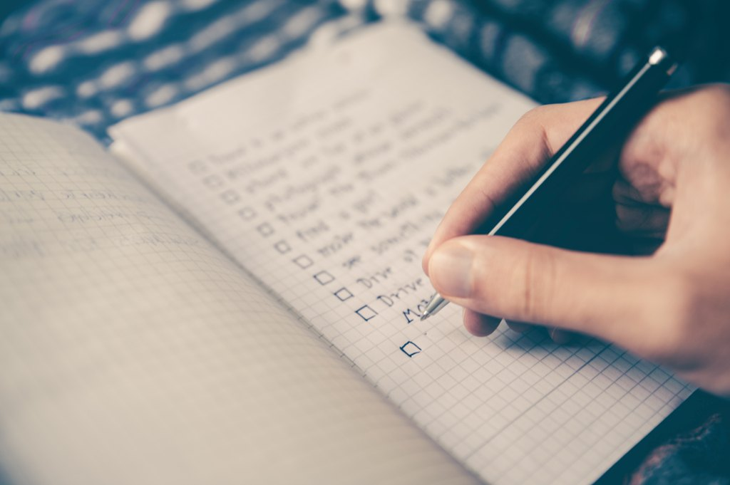 To Do List, Do What You Say You're Going To Do
